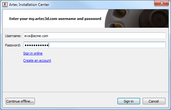 Installation and First Steps — Artec Studio 12 documentation